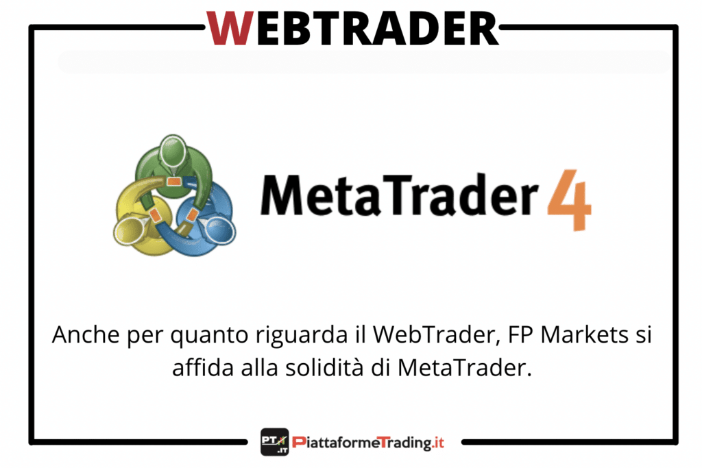 MetaTrader via web su FP Markets - a cura di PiattaformeTrading.it